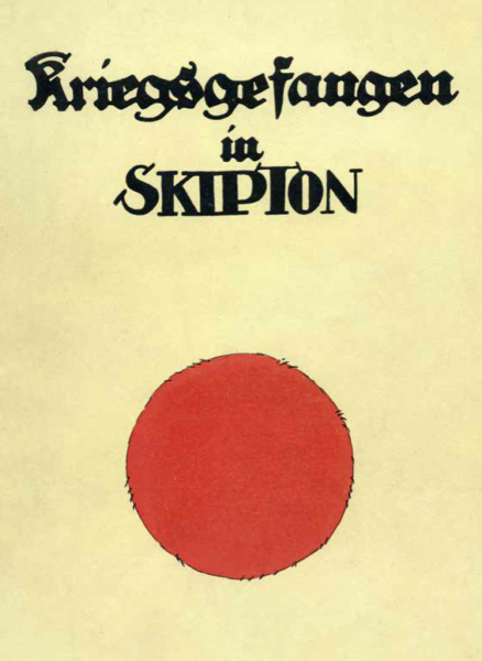 Front cover of the book - Kriegsgefangen in Skipton