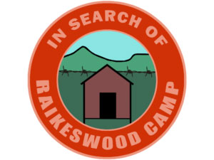 In Search of Raikeswood camp logo